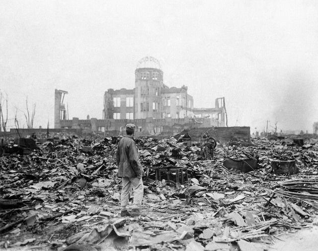 1 August 6 1945 the bomb nicknamed Little Boy flattens Hiroshima