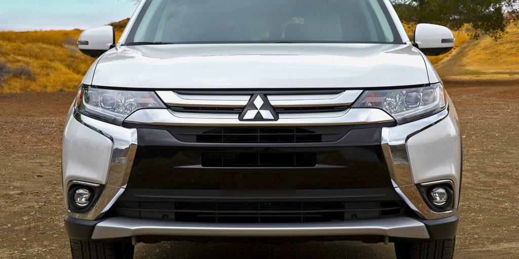 2018 Mitsubishi Outlander grille d