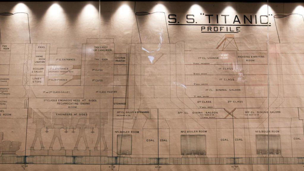 plan of titanic