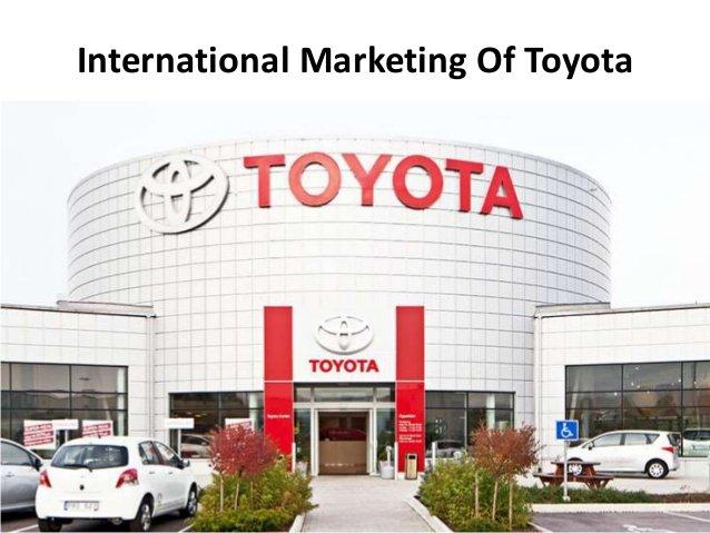 international marketing of toyota 1 638