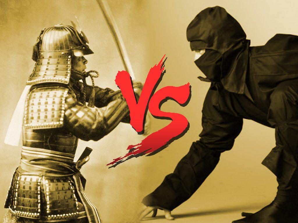 ninja vs samurai who would win