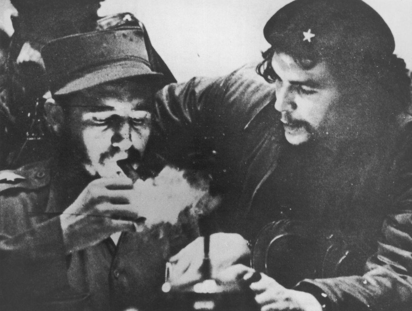 Fidel Castro with Che