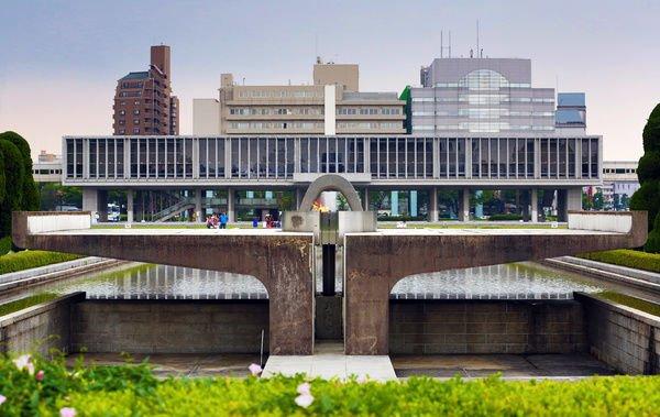 peace memorial museum peace flame hiroshima 10975380