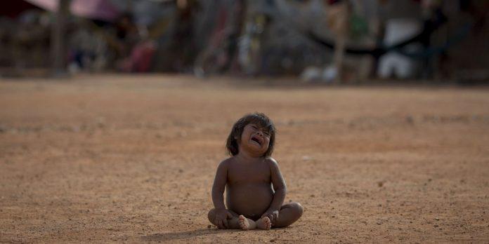 web3 venezuela venezuelan child food shortage crisis refugee camp mauro pimentel afp 1