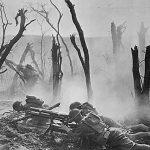 Gun firing by France - World War-I