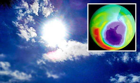 ozone layer repairing
