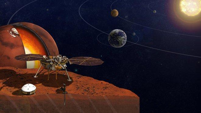 Insight Mars Nasa