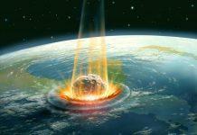 asteroid hit