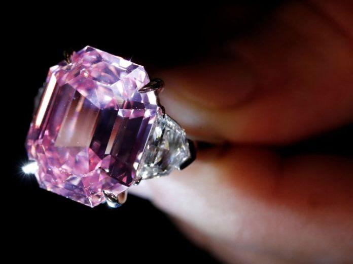 pink diamond christies
