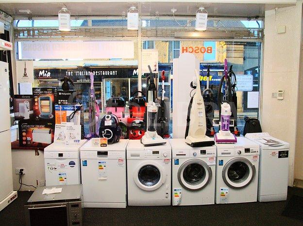 Fridge, T.V, Washing Machine