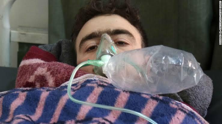 syria war chemical bomb