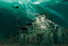 abandoned-places-Underwater-City-Shicheng-China