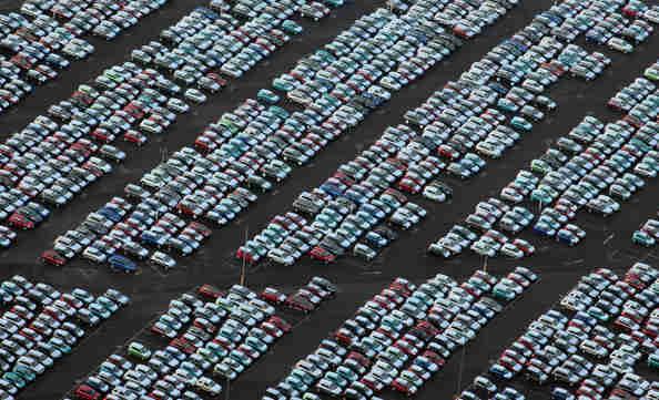 cars spain port