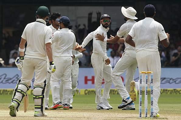 india australia cricket first test