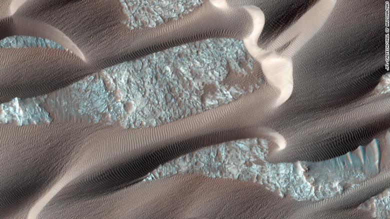 mars best moments mro hirise mars nilli patera dune field activity