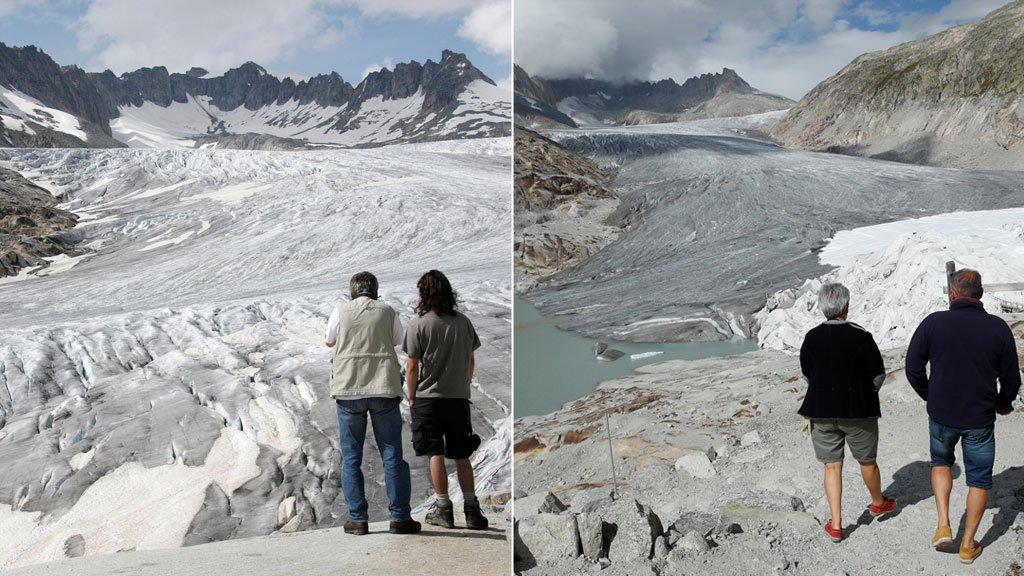 rhone glacier reuters
