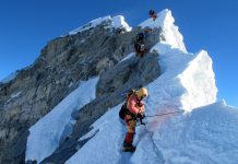 NEPAL-LIFESTYLE-SPORT-EXTREME-MOUNTAINEERING-EVEREST