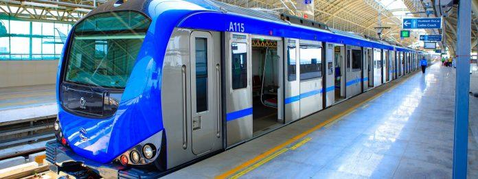 chennai metro train