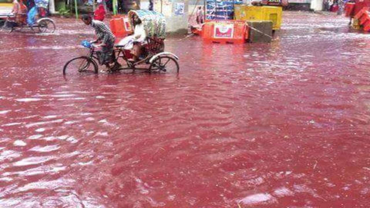 rain blood