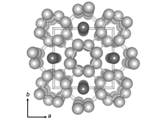 Potassium atoms under pressure