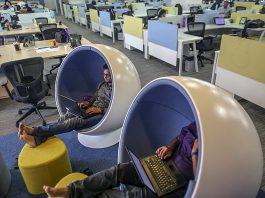 Flipkart Office Space Inside