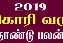 vikari tamil new year rasi palan
