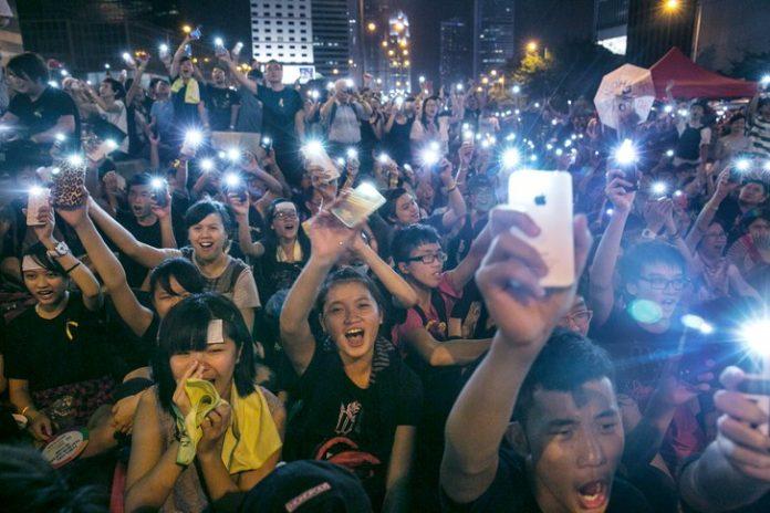 Parker-HK-Protest2