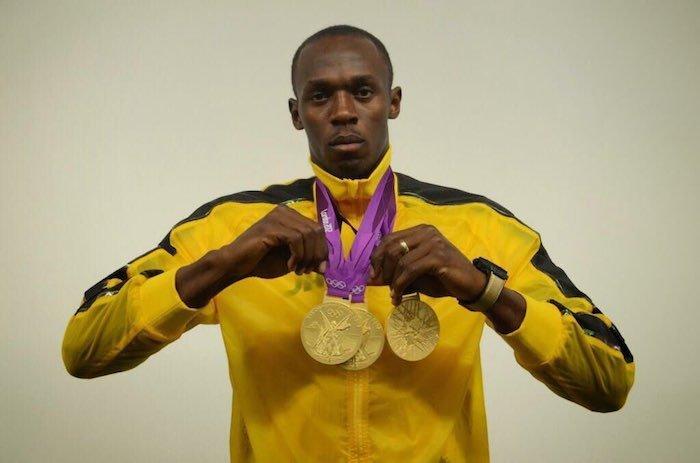 Usain Bolt Gold medals