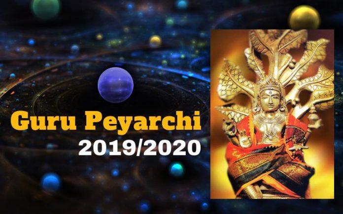 guru peyarchi 2019