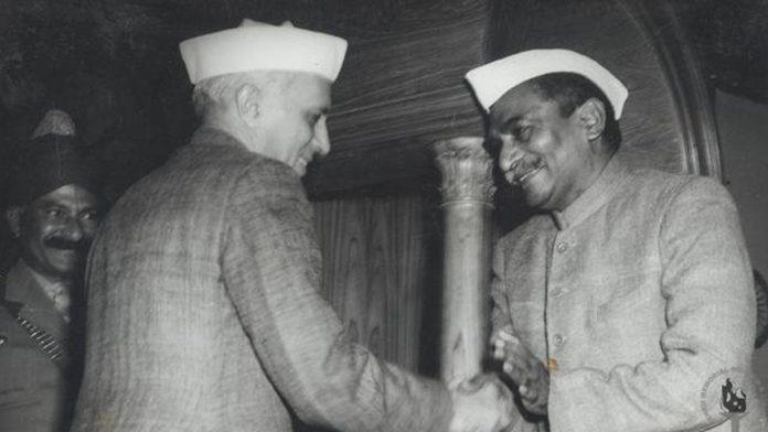 Rajendra Prasad and Nehru