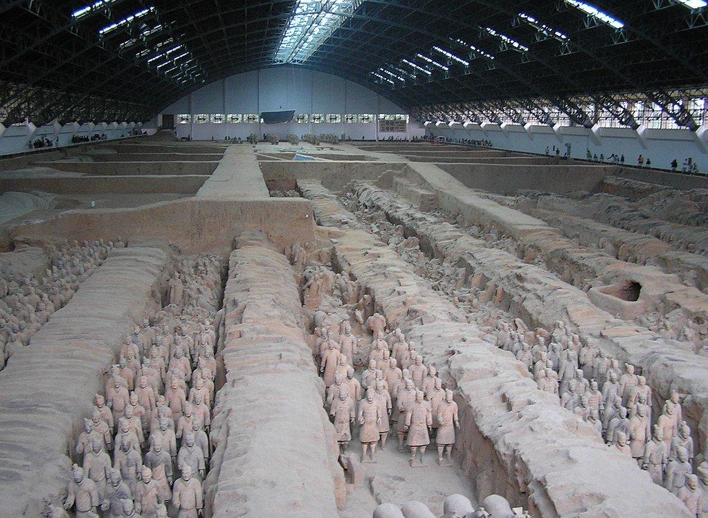 Xian museum China Forbidden Place