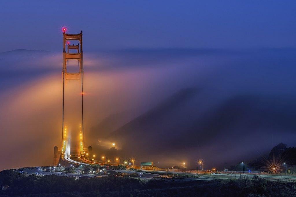 The Nature Conservancy Photo Contest Cities 1st golden bridge min1