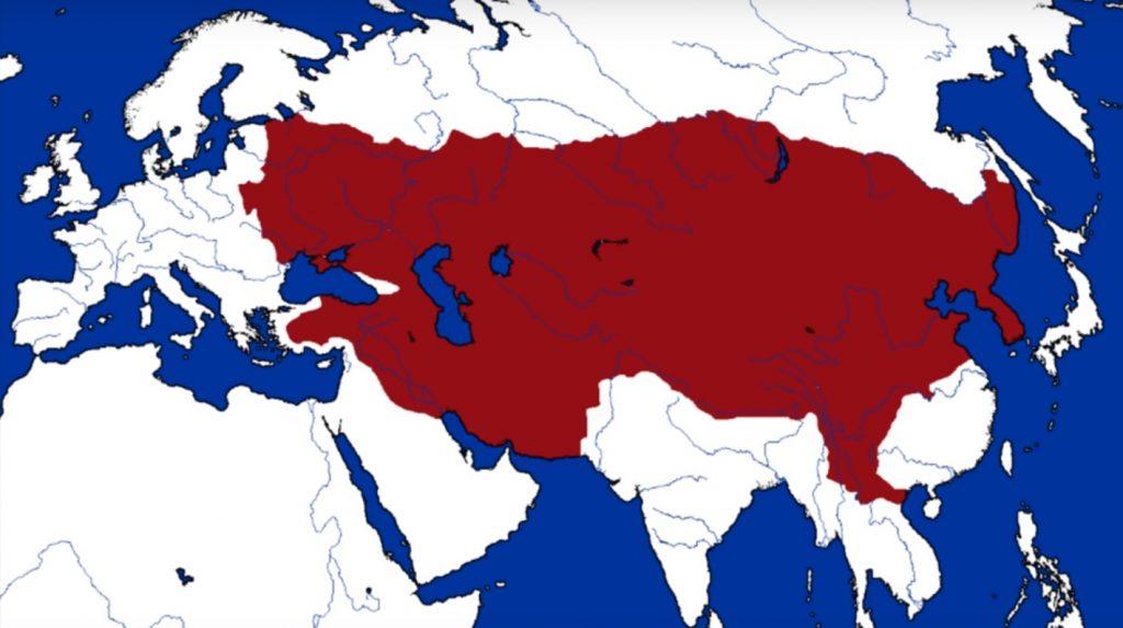 mongol-empire-map-genghis-khan