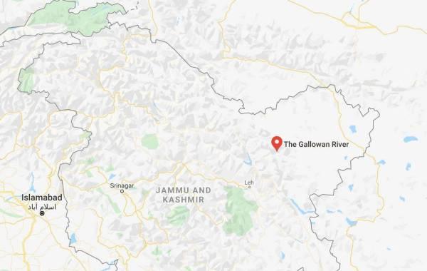 galwan valley india china standoff