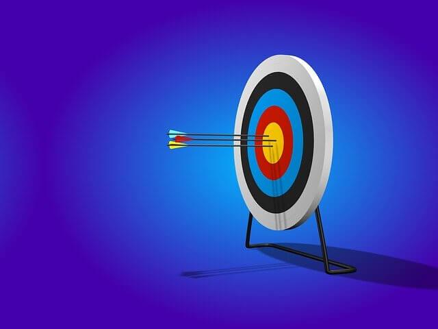 target arrow confidence goal