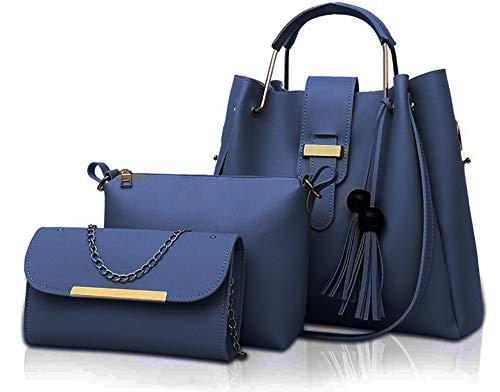 8 Fargo Womens PU Leather Handbag And Sling Bags Combo 1