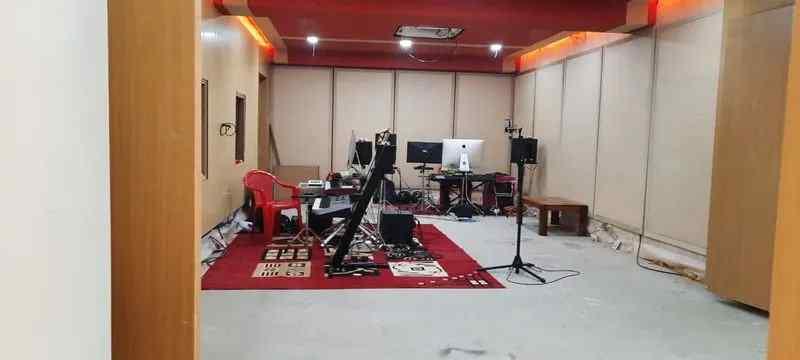 Ilaiyaraja studio