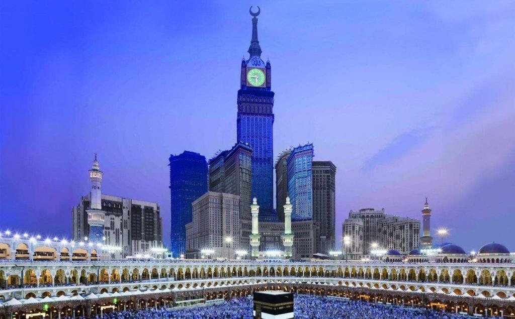 Makkah Royal Clock Tower min