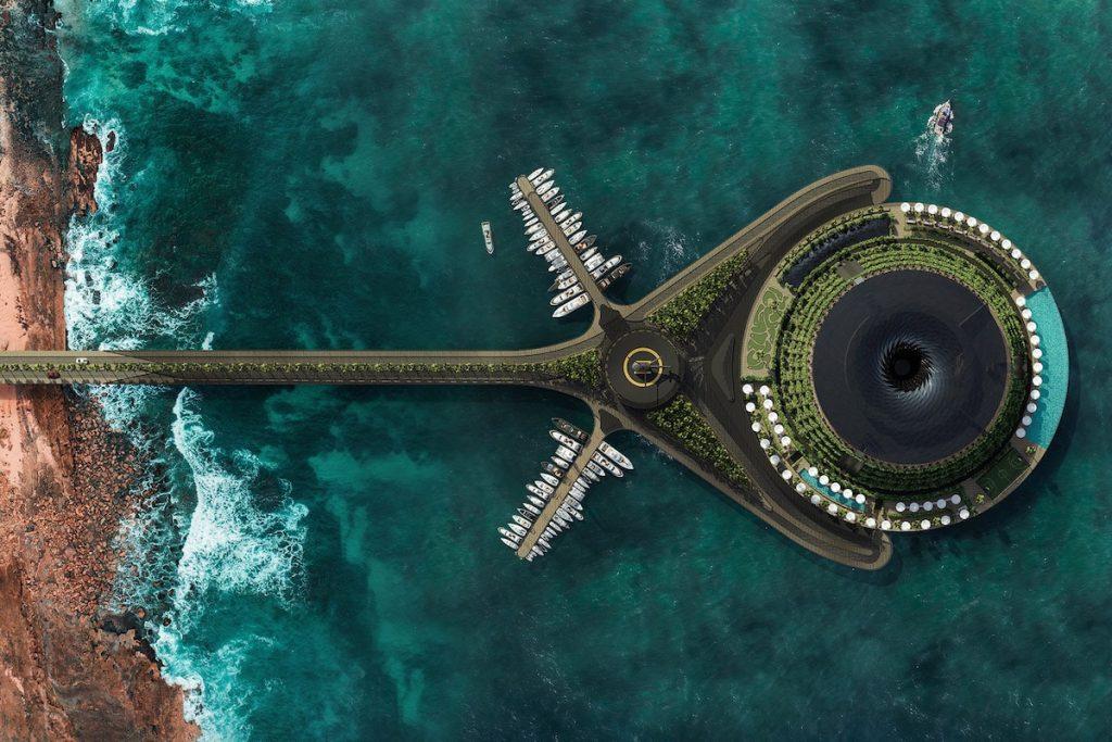 eco floating hotel 1 min
