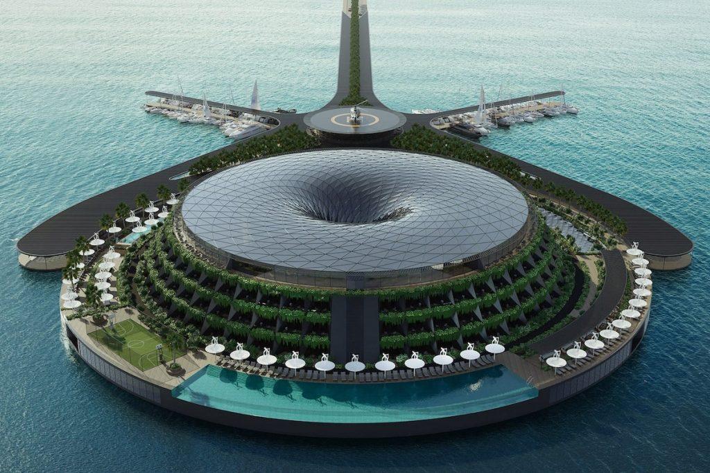 eco floating hotel 2 min