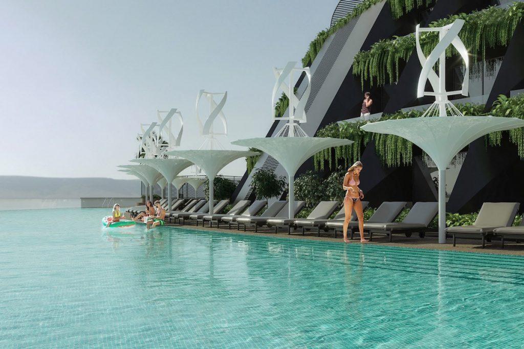 eco floating hotel 5 min