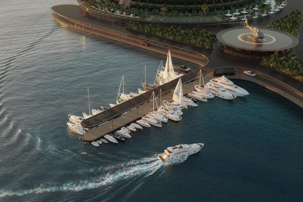 eco floating hotel 6 min