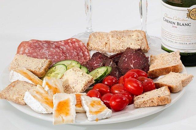 food platter protein food min