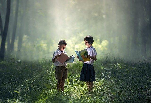 book Reading min
