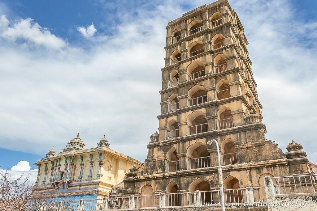 Thanjavur palace bell tower min